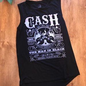Johnny Cash Black Tank